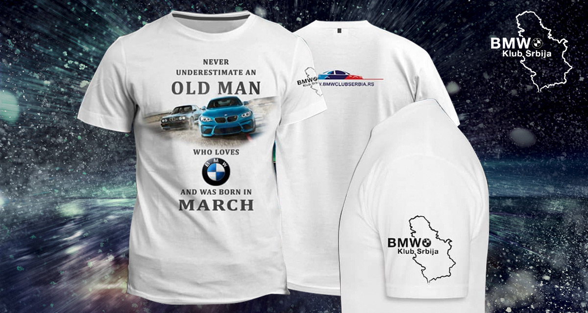 BMW Klub Srbija majica