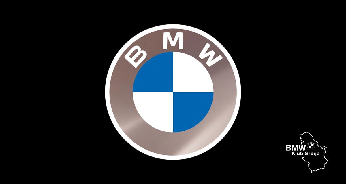BMW dobija novi logotip