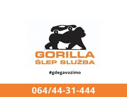 Šlep služba GORILLA