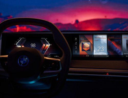 BMW iDrive 8 sistem